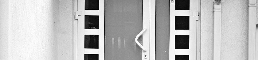 Alumīnija durvis